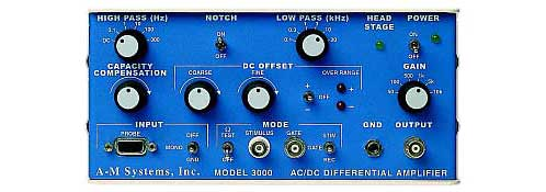 A-M Systems  Model 3000  AC/DC Differential Amplifier