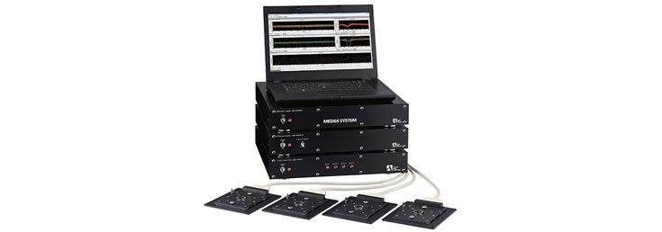 MED64-Plex 4/8  Microelectrode Array Recording System
